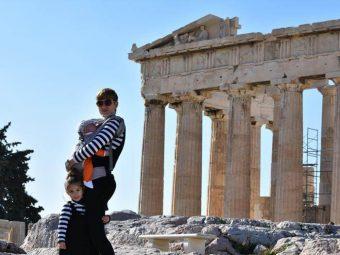 Atenas con niños