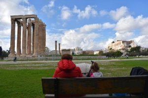 templo zeus 300x200 - 12 imprescindibles en Atenas con niños