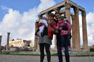templo zeus2 300x200 - 12 imprescindibles en Atenas con niños
