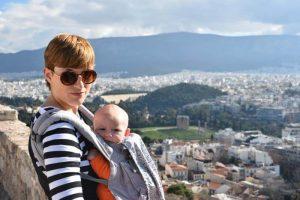 vistas parthenon1 300x200 - Atenas con bebés o niños pequeños, ¿un error?