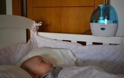 Humidificadores portátiles para viajes con bebés