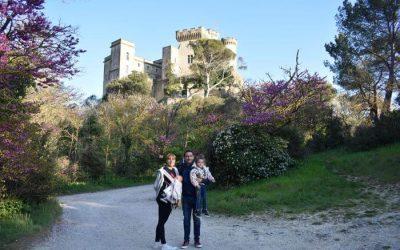 Aix en Provence con niños y el Chateau de la Barben