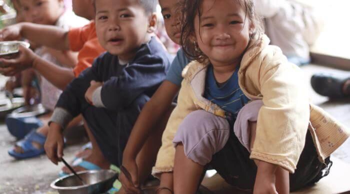 Un viaje solidario a Nepal en familia