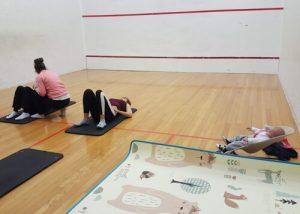 arena hipopresivos 300x214 - Volver al deporte tras ser madre en Alicante