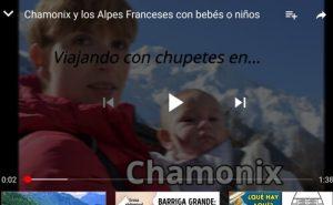 chamonix youtube1 300x185 - Chamonix y los Alpes Franceses con bebés o niños ¿si o no?