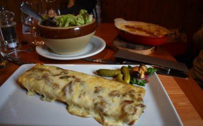 comida chamonix 400x250 - Viajando con Chupetes, un Blog de padres viajeros