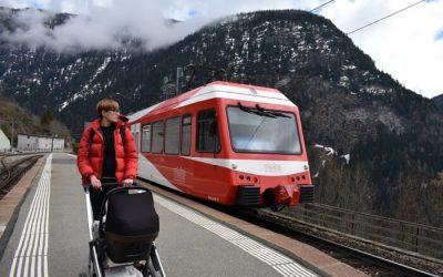 tren chamonix3 400x250 - Viajando con Chupetes, un Blog de padres viajeros