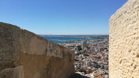 castillo visitar en verano Alicante