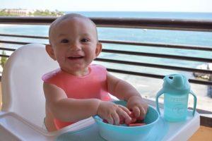 alimentacion en viajes bebés de 6 meses a 1 año