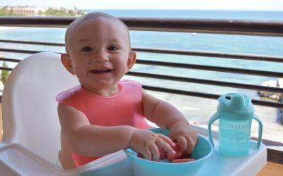Alimentación en viajes bebés de 6 meses a 1 año, nuestra experiencia