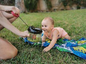 alimentacion en viajes bebe