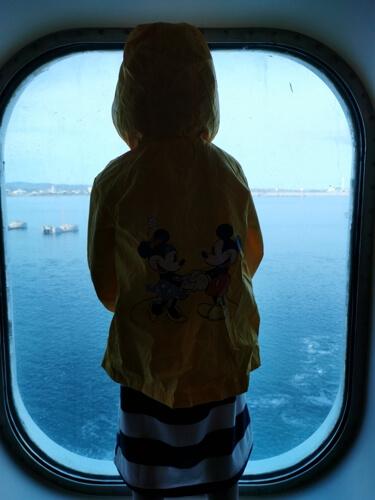 barco italia2 - De Barcelona a Civitavecchia en el ferry de Grimaldi Lines