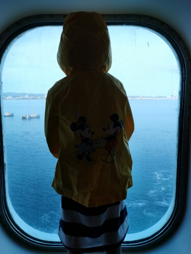 Barcelona a Civitavecchia en el ferry de Grimaldi