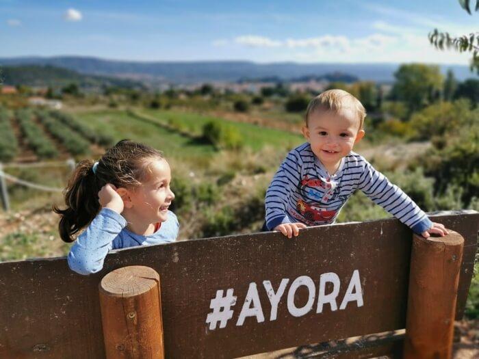 Ayora con niños, el interior de la Comunidad Valenciana mola mucho