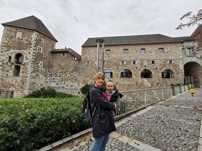castillo liubliana - ¿Qué hacer en Liubliana con bebés y niños?
