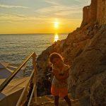 drobrovnik atardecer 150x150 - Dubrovnik con bebés o niños, la perla del Adrático en una tarde