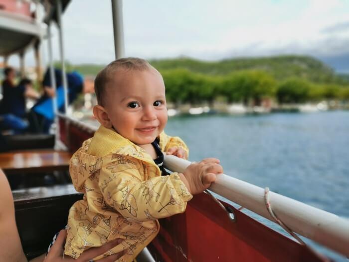 Viajar en ferry con niños por Europa