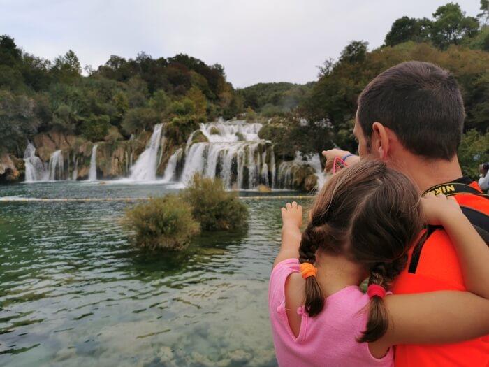 Sibenik con niños, el Parque Nacional de Krka y mucho más