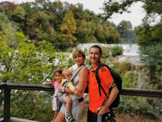 Parque Nacional de Krka con niños