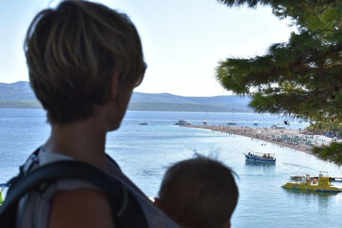 Visitar el Cuerno de Oro desde Split con niños… ¿merece la pena?