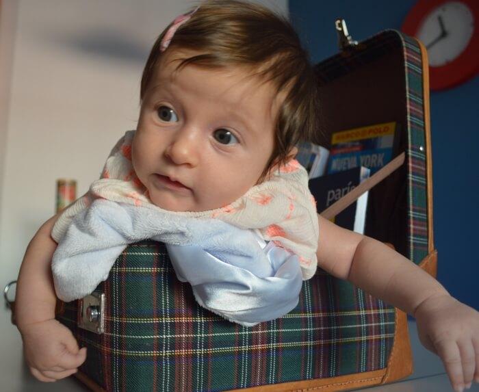Guía para viajar con bebés por primera vez