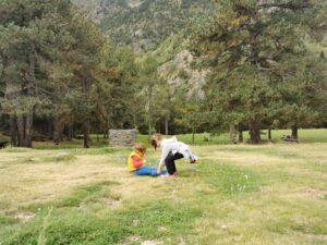 Dino merendero 300x225 - Rutas en Andorra con bebés o niños pequeños