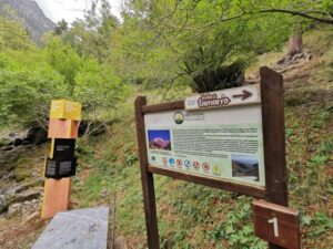 Massa indicaciones 300x225 - Rutas en Andorra con bebés o niños pequeños