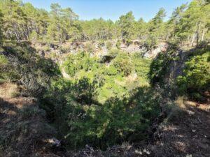 torca de la novia 300x225 - Las Lagunas de Cañada del Hoyo con niños y otras rutas imprescindibles