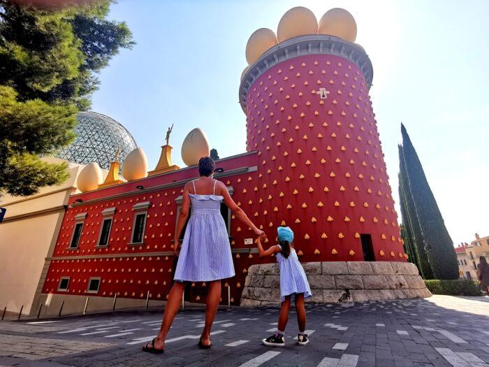 visitar Figueres con niños