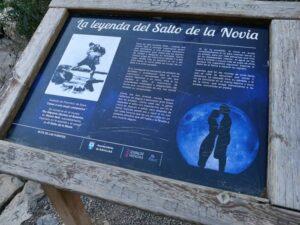 leyenda del salto de la novia 300x225 - El Salto de la Novia en Navajas, una cascada espectacular