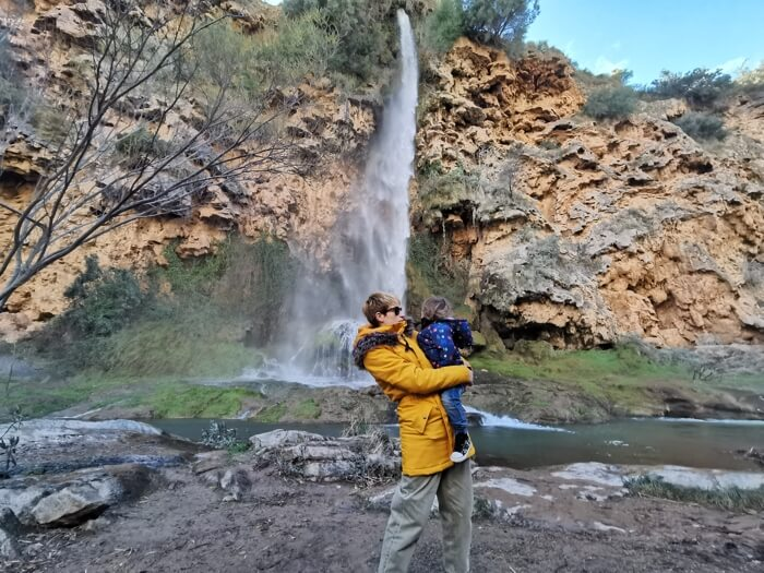 El Salto de la Novia en Navajas, una cascada espectacular