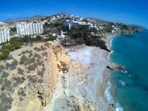 drone lacaleta2 300x225 - Rutas en Villajoyosa con niños y junto al mar